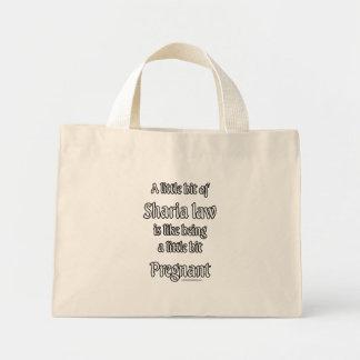 A little Sharia Law... Mini Tote Bag