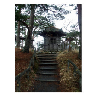 A little shrine postcard