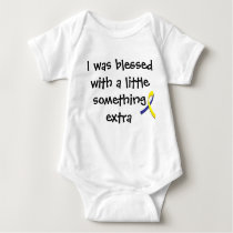 """A little something extra"" Down Syndrome Shirt"
