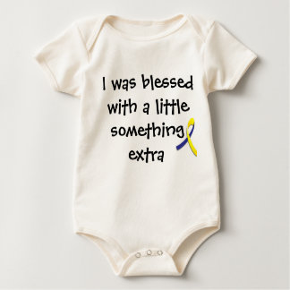 """""""A little something extra"""" Down Syndrome Shirt"""