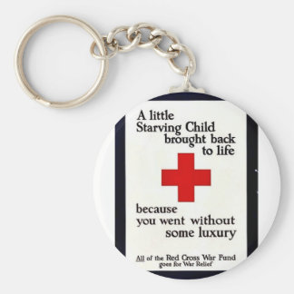 A Little Starving Child Brought Back To Life Key Chains