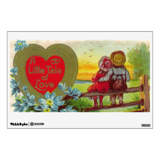 A Little Tale of Love Room Stickers