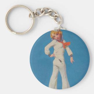 A Little Tar on Sailor Girl Key Chains