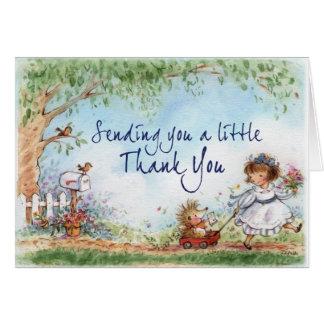 A Little Thank You Card