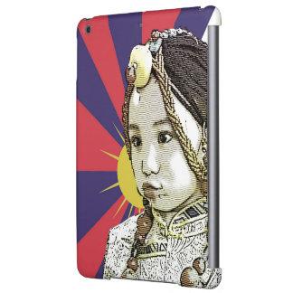 A little Tibetan girl / SAVE TIBET~! FREE TIBET! Case For iPad Air