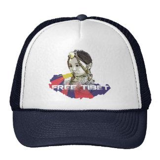 A little Tibetan girl  SAVE TIBET~! FREE TIBET! Trucker Hat