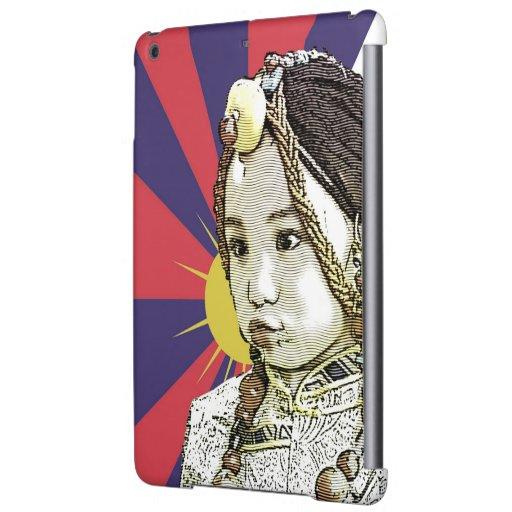 A little Tibetan girl / SAVE TIBET~! FREE TIBET! iPad Air Covers