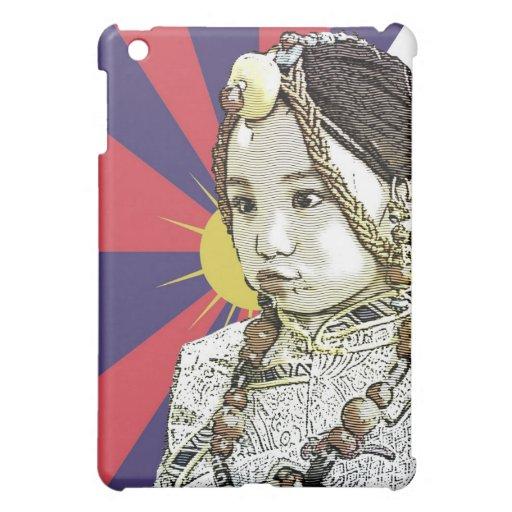 A little Tibetan girl / SAVE TIBET~! FREE TIBET! iPad Mini Case
