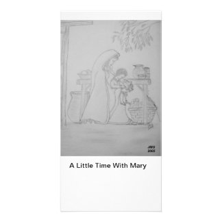A Little Time With Mary Card