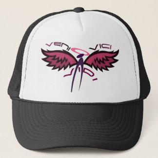 A Little Touch of Pink Veni Vidi Vici Trucker Hat