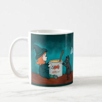 A Little Witch's Brew Coffee Mug