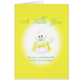 A Little You Greeting Card