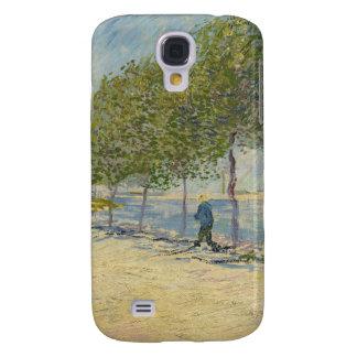 A lo largo de la caja de la galaxia del Sena Samsung Galaxy S4 Cover