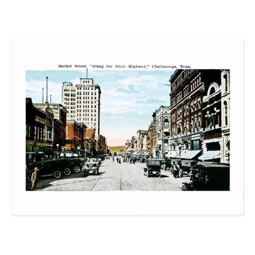 """""""A lo largo de la carretera de Dixie"""", Postal"""