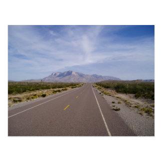 A lo largo del camino - EL Capitan - montañas de Postal