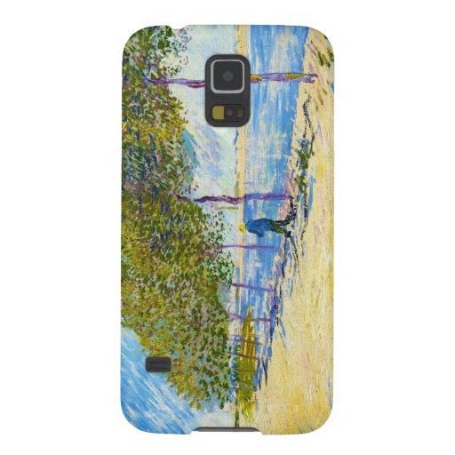 A lo largo del Sena de Vincent van Gogh Fundas Para Galaxy S5