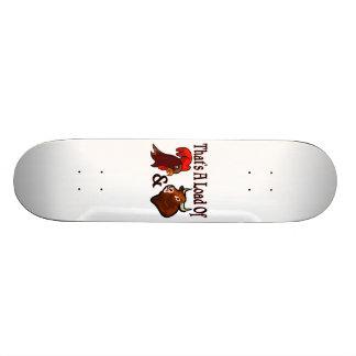 A Load Of Cock & Bull Skateboard