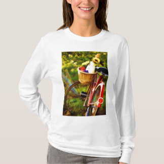 A Loaf of Bread a Jug of Wine and a Bike T-Shirt