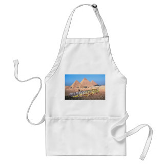 A Locust & Pyramids In Egypt Adult Apron