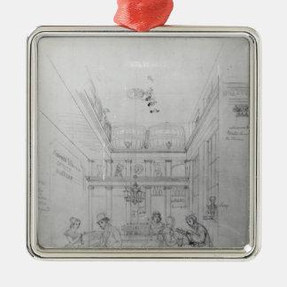 A London Liquor Shop, 1839 Metal Ornament