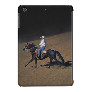 A Lone Cowboy and His Horse Art on Device Cases iPad Mini Retina Case