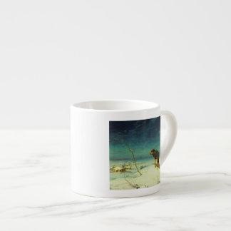 A Lone Wolf Samotny Wilk Espresso Cups