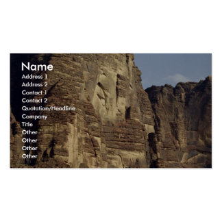 A lonely jeep, Wadi Rum Desert, Jordan Double-Sided Standard Business Cards (Pack Of 100)