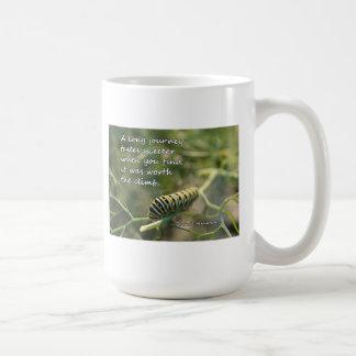 A Long Journey Caterpillar Mug