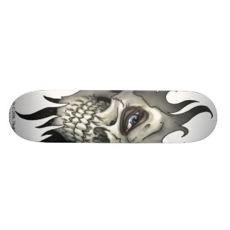 A Look From A Skull Skateboard Deck