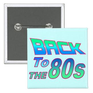 A los años 80 2 pin cuadrado