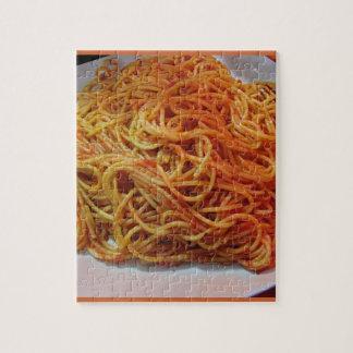 A los espaguetis del amor rompecabezas con fotos