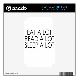 a lot iPod touch 4G decal