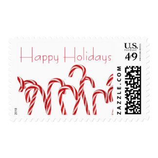 A lot of christmas candies postage