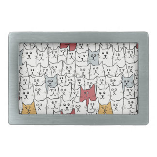 A lot of funny cats belt buckle