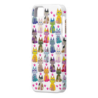 A lot the happy cat iPhone SE/5/5s case