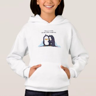 A Lottle Penguins - Girl's Hoodie