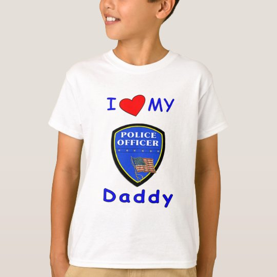 A Love My Police Daddy T-Shirt