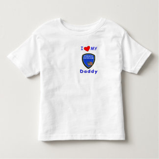 A Love My Police Daddy Toddler T-shirt