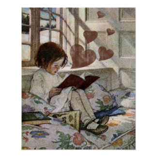 A love of Reading Poster