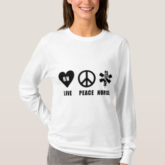 A Love Peace RN T-Shirt