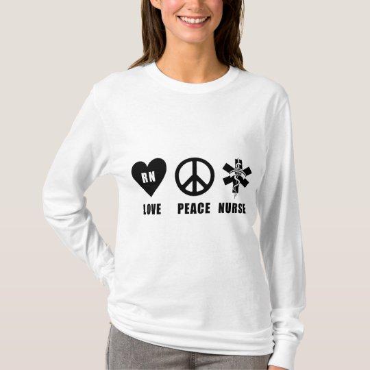 A Love Peace RN T-Shirt