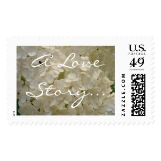 A Love Story Postage Stamp