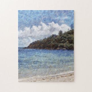A lovely beach jigsaw puzzle