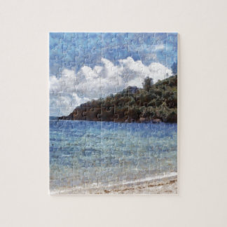 A lovely beach puzzle
