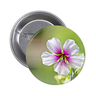 A Lovely Purple Flower 2 Inch Round Button
