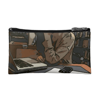 A Lovely Study Library Woman Makeup Bags