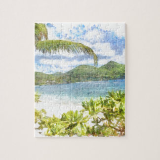 A lovely tropical paradise puzzles