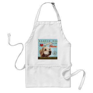A Loving Akbash Dog Makes Our House Home Adult Apron