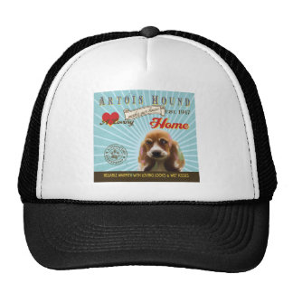 A Loving Artois Hound Makes Our House Home Trucker Hat