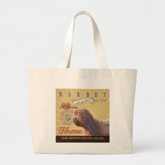 A Loving Barbet Makes Our House Home Canvas Bag